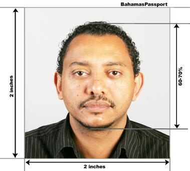 Bahamas Passport And Visa Photos